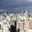 Stormy Sky over Sao Paulo - Stock Photo