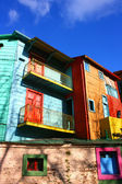 House in the historical neighborhood of La Boca in Buenos Aires — Stock Photo
