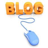 Blog - Concept — Stock Photo