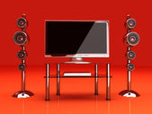 Home Entertainment System — Stock Photo