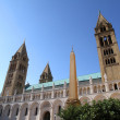 Cathedral in Pecs — Stock Photo