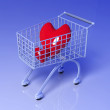 Shopping for Love - Stockfoto