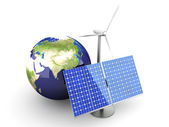 Alternative Energy - Asia — Stock Photo