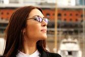 Portrait of a business woman — Stock Photo