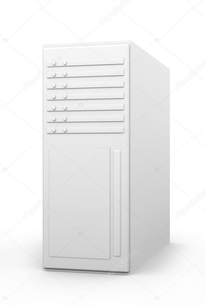 3d rendered Illustration. Isolated on white. — Stock Photo #6104705