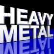 Stock Photo: Heavy Metal