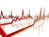 EKG Lines — Stock Photo