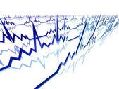 Ekg lijnen — Stockfoto