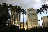 Donkere hemel over sao paulo — Stockfoto