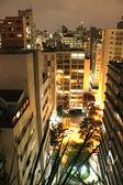 Sao paulo på natten — Stockfoto