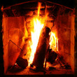 Fireplace — Stock Photo #6522389