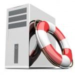 Desktop PC Life Belt — Stock Photo #6522576