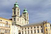 Historics building in Linz — Stock Photo