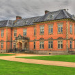 An HDR image of seventeenth century stately home Tredegar Hous - Stock Photo