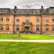 Stock Photo: HDR image of seventeenth century stately home Tredegar Hous