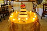 Wedding cake - 2 — Stock Photo