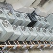 Roof top air conditioning units - 2 - 图库照片