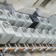 Stock Photo: Roof top air conditioning units - 2