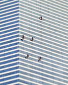 Cliffhanger Window Washers - 2 — Stock Photo
