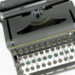 Imagination typewriter — Stock Photo