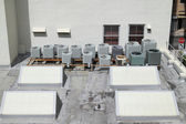 Roof top A/C units — Stock Photo