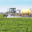 Spraying Pesticides - 4 - Stock Photo