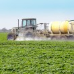 Spraying Pesticides - 4 — Stock Photo