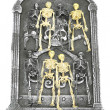 Isolated Group of Skeletons — Stock Photo