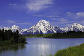 Oxbow Bend — Stock Photo