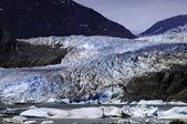 Glaciar mendenhall — Foto Stock