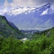 Stock Photo: View of Skagway Alaska