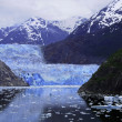 Sawyer Glacier at Tracy Arm Fjord — Stock Photo