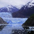 Stock Photo: Sawyer Glacier at Tracy Arm Fjord