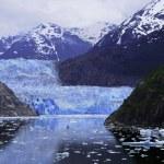 Sawyer Glacier at Tracy Arm Fjord — Stock Photo #6529108
