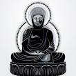 Buddha — Stock Vector #6430982