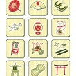 Royalty-Free Stock Vector Image: Japanese culture icons | BAMBOO series