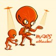Mars attacks! — Stock Vector #6691218