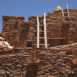 Southwestern Hopi House 1905 Architecture Abstract - Stock Photo
