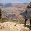 Photographer Shooting at the Grand Canyon — Stock Photo