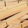 Abstract of Construction Wood Stack - Stock Photo