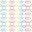 Colorful seamless floral pattern — Stock Photo