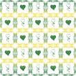 Royalty-Free Stock Photo: Seamless pattern of hearts