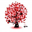 Royalty-Free Stock Photo: Valentine tree