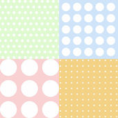 Polka dots pattern — Stock Photo