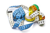 Colorful tape measure — Stock Photo