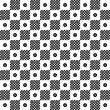 Seamless polka dots pattern — Stock Photo