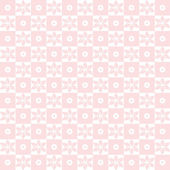 Seamless floral and dots pattern — Stock Photo