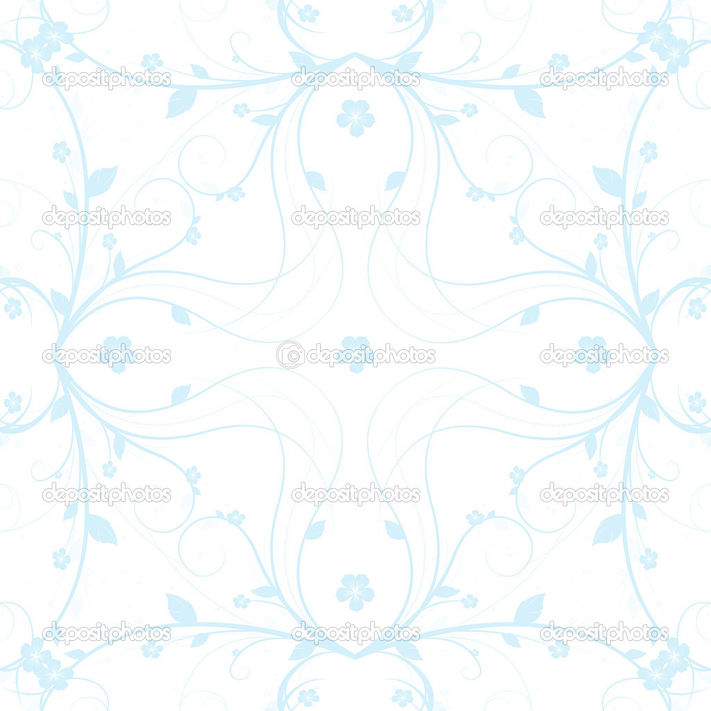 Beautiful background of abstract seamless floral pattern — Stock Photo #5843323