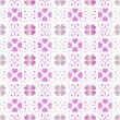 Royalty-Free Stock Векторное изображение: Seamless hearts pattern