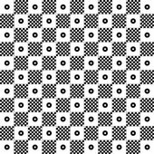 Seamless polka dots pattern — Stock Vector